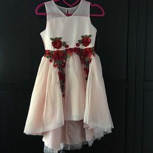 NWT Nanette Lepore girl's high low dress